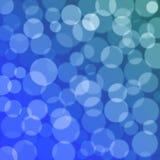 Textura azul del bokeh Imágenes de archivo libres de regalías