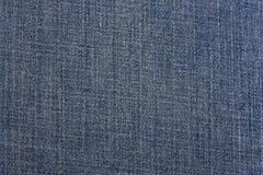 Textura azul del dril de algodón Fotografía de archivo libre de regalías