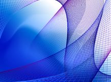 Textura azul del espectro Imagenes de archivo