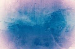 Textura azul del Grunge Fotografía de archivo libre de regalías