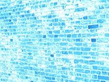 Textura azul del grunge de la pared de ladrillo para su diseño Imagen de archivo libre de regalías