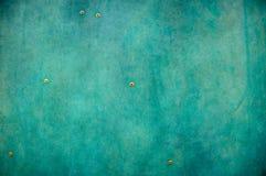 Textura azul del metal Fotografía de archivo libre de regalías
