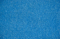 Textura azul do assoalho de tapete Imagem de Stock