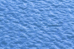 Textura azul do gelo Fotografia de Stock