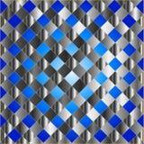 Textura azul elétrica da grade Imagens de Stock