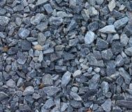 Textura azul gris de las piedras de los escombros imagen de archivo