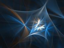 Textura azul lisa ilustração stock