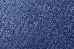 Textura azul marino del fondo del cuero artificial imagen de archivo