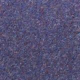 Textura azul tejida de la alfombra de la lila Fotografía de archivo