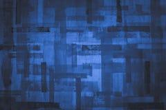 Textura azul vacía del grunge ilustración del vector