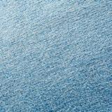 Textura azul velha de pano de brim ou de sarja de Nimes Fotos de Stock