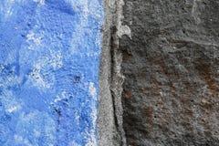 Textura azul y negra de la pared foto de archivo libre de regalías