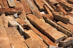 Textura - Backgound van stenen Gebroken marmeren steen Stock Afbeeldingen
