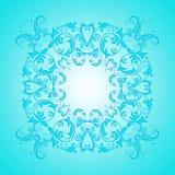 Textura barroca de la pendiente de la turquesa del estilo Fotografía de archivo libre de regalías