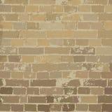 Textura bege da parede de tijolo ilustração stock