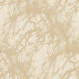 Textura bege da tela do batik - fundo sem emenda abstrato Imagens de Stock Royalty Free