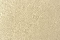 Textura beige del fondo de la imitación de cuero Imagenes de archivo
