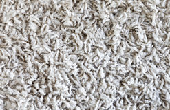 Textura blanca de la alfombra Foto de archivo libre de regalías