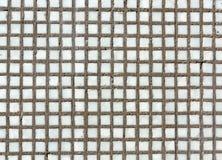 Textura blanca de la pared de ladrillo del mosaico Foto de archivo