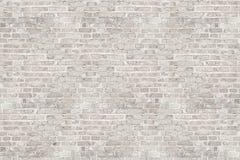 Textura blanca de la pared de ladrillo del lavado para el diseño imagen de archivo