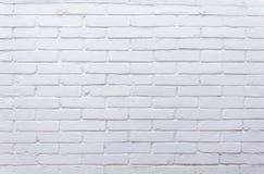 Textura blanca de los ladrillos Foto de archivo libre de regalías
