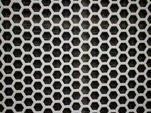 Textura blanca del hexágono Imagen de archivo libre de regalías