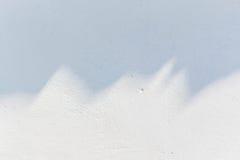 Textura blanca del muro de cemento Imagen de archivo