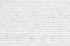 Textura blanca del tablón de madera del pino Fotos de archivo libres de regalías