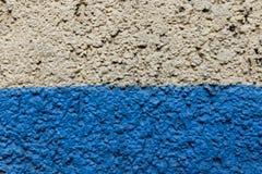 Textura blanca y azul de la pared Imagen de archivo libre de regalías