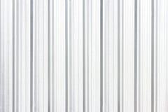 Textura blanca y fondo plateados de metal de la pared inconsútiles Imagen de archivo