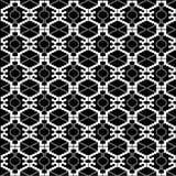 Textura blanco y negro étnica Foto de archivo libre de regalías