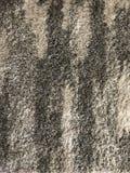 Textura blanco y negro de la manta imagen de archivo libre de regalías