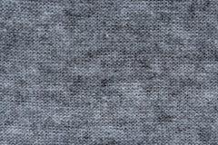 Textura blanco y negro de la tela Foto de archivo