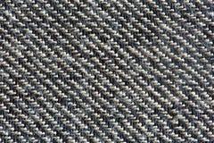Textura blanco y negro de las lanas Imagen de archivo