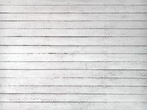 Textura blanco y negro de tablones de madera Foto de archivo libre de regalías