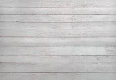 Textura blanco y negro de tablones de madera Fotografía de archivo libre de regalías
