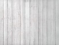Textura blanco y negro de tablones de madera Fotos de archivo