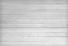 Textura blanco y negro de tablones de madera Imagen de archivo libre de regalías