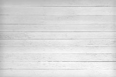 Textura blanco y negro de tablones de madera Imágenes de archivo libres de regalías