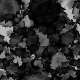 Textura blanco y negro oscura de la acuarela stock de ilustración