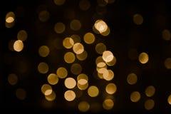 Textura bonita da luz do bokeh da folha de prova Fotografia de Stock Royalty Free