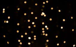 Textura bonita da luz do bokeh da folha de prova Fotografia de Stock