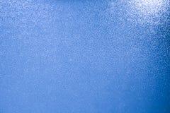 Textura bonita na cor azul que recorda o mar imagem de stock royalty free