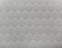 Textura branca abstrata do fundo do teste padrão do fundamento do colchão foto de stock royalty free