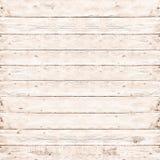 Textura branca da prancha de madeira do pinho para o fundo Imagem de Stock Royalty Free
