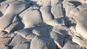 Textura branca da rocha Fotos de Stock Royalty Free