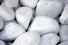 Textura branca das pedras Fotografia de Stock Royalty Free