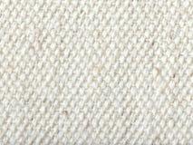 Textura branca de matéria têxtil Fotos de Stock