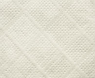 Textura branca do guardanapo de papel de tecido Fotos de Stock Royalty Free