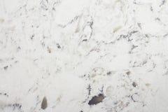 Textura branca do macro do contador de quartzo do delta Imagens de Stock